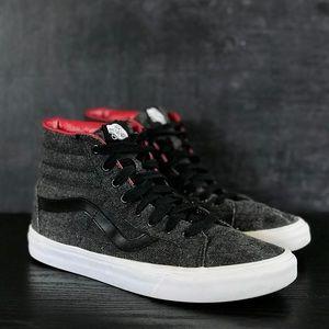 Unisex Vans Sk-8 Hi Top Sneakers Mns 8.5 Wms 10